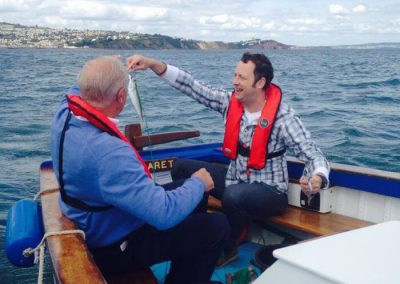 Holiday of my lifetime with Len Goodman
