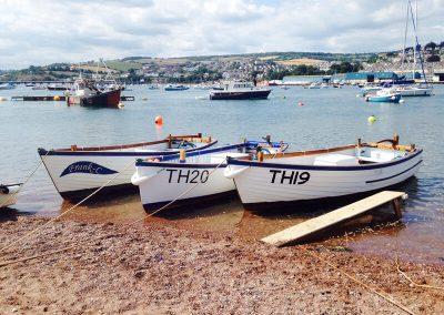 Teign Boat Hire Fleet